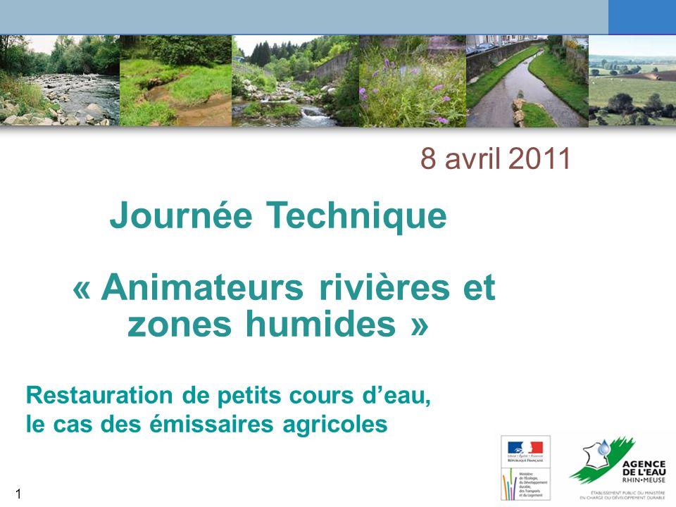 « Animateurs rivières et zones humides »