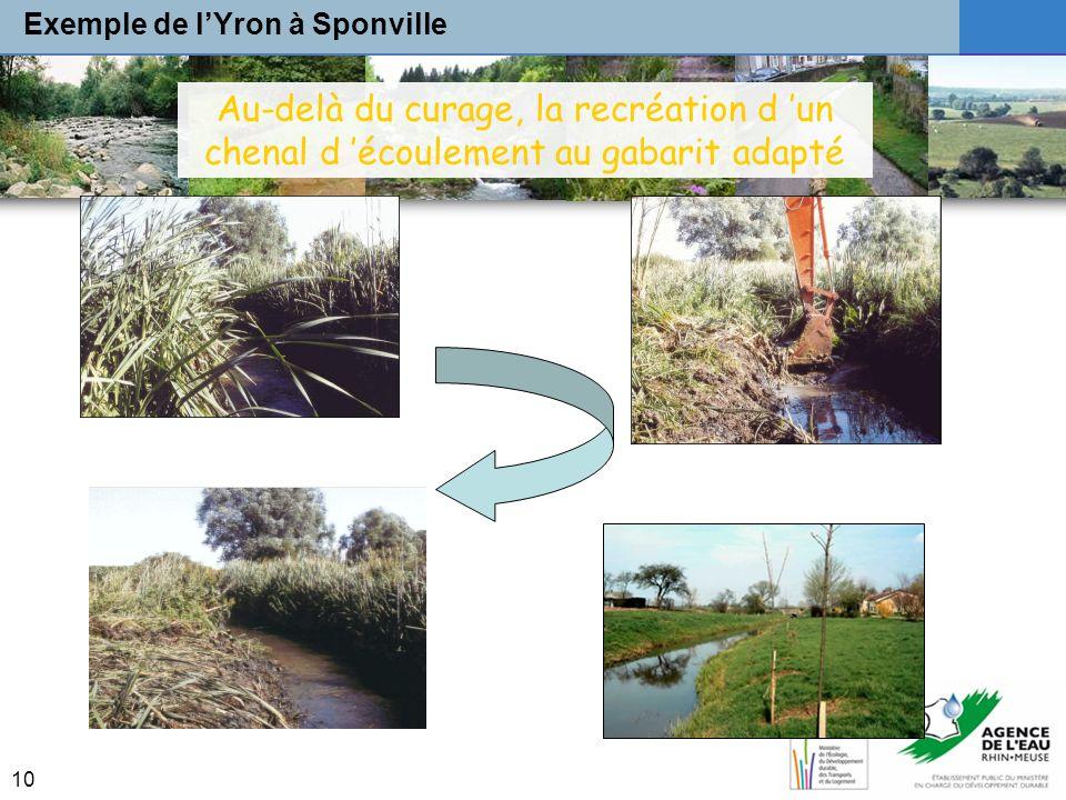 Exemple de l'Yron à Sponville