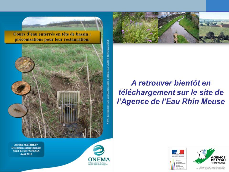 A retrouver bientôt en téléchargement sur le site de l'Agence de l'Eau Rhin Meuse