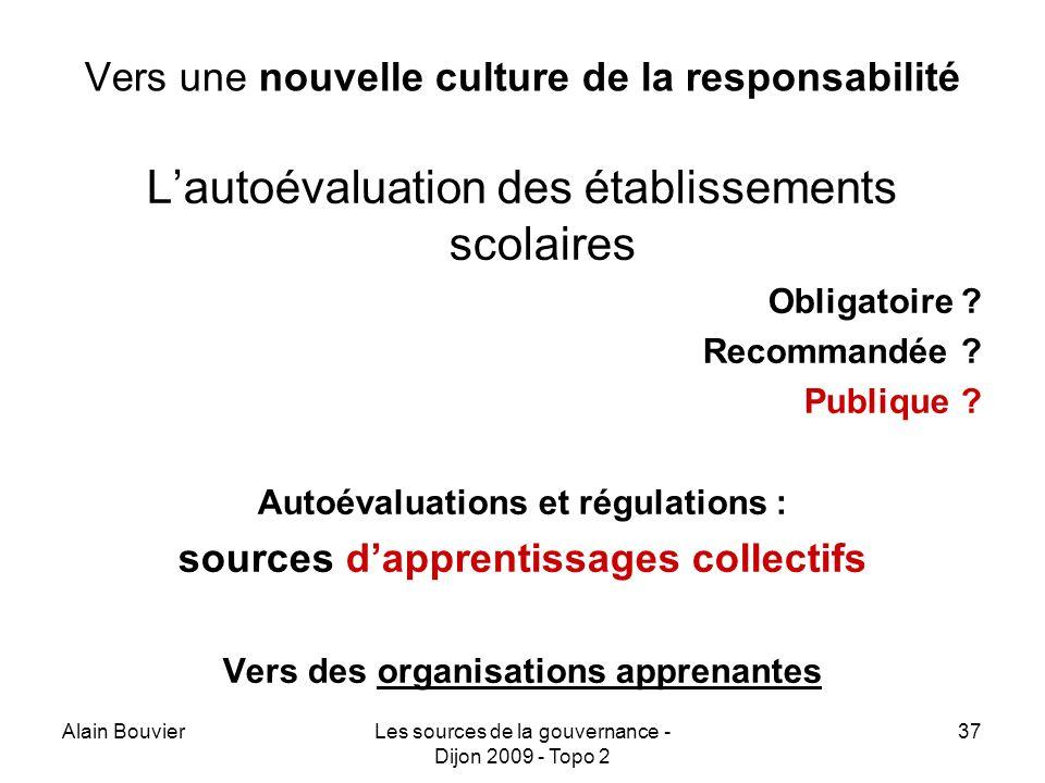 Vers une nouvelle culture de la responsabilité