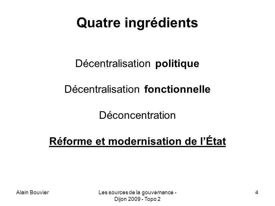 Réforme et modernisation de l'État