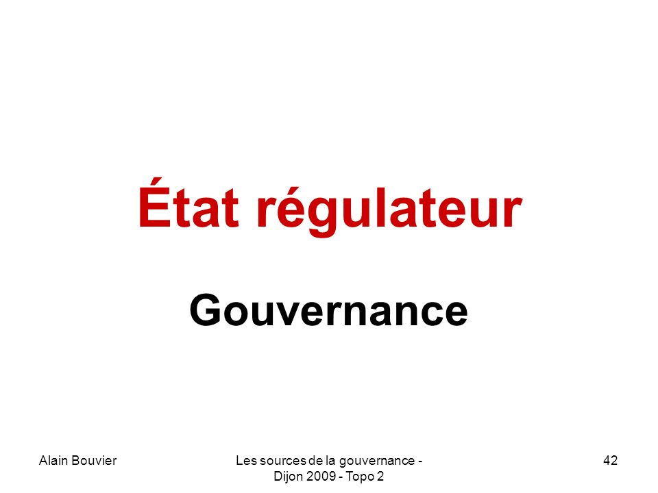 Recteur Alain Bouvier Gouvernance