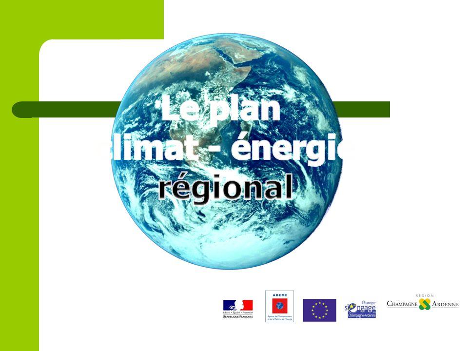 Le plan climat - énergie régional
