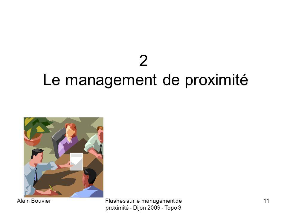 2 Le management de proximité