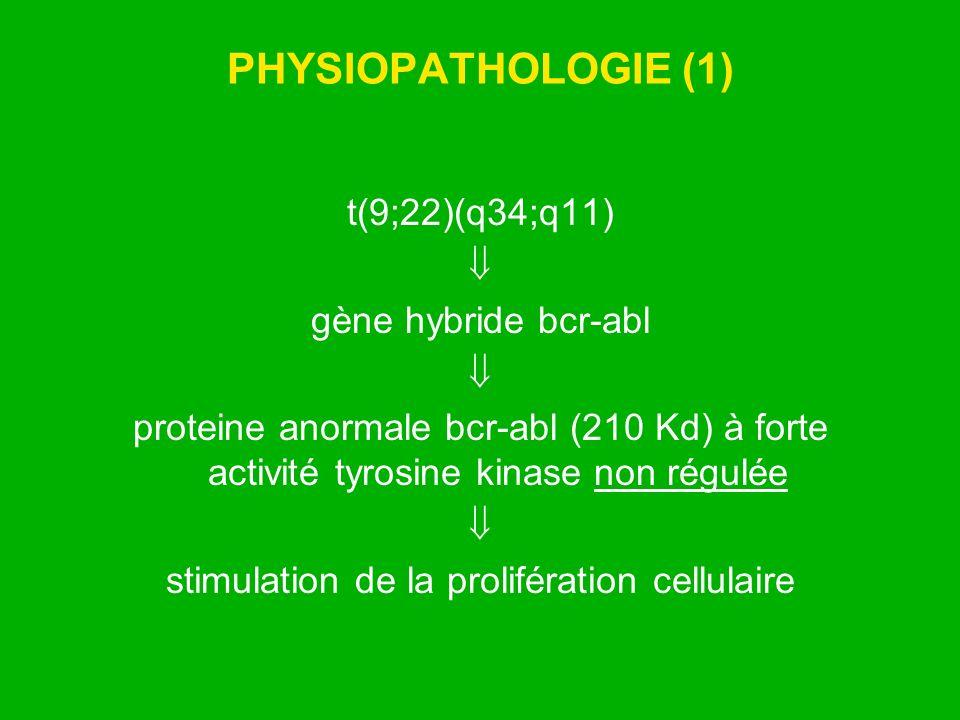 stimulation de la prolifération cellulaire
