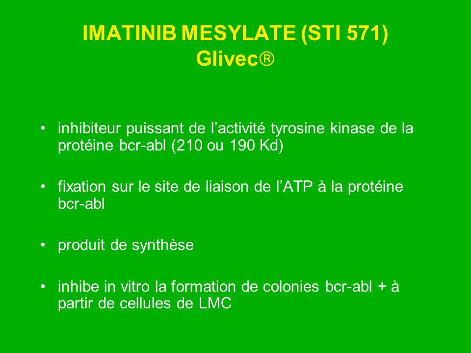 IMATINIB MESYLATE (STI 571) Glivec