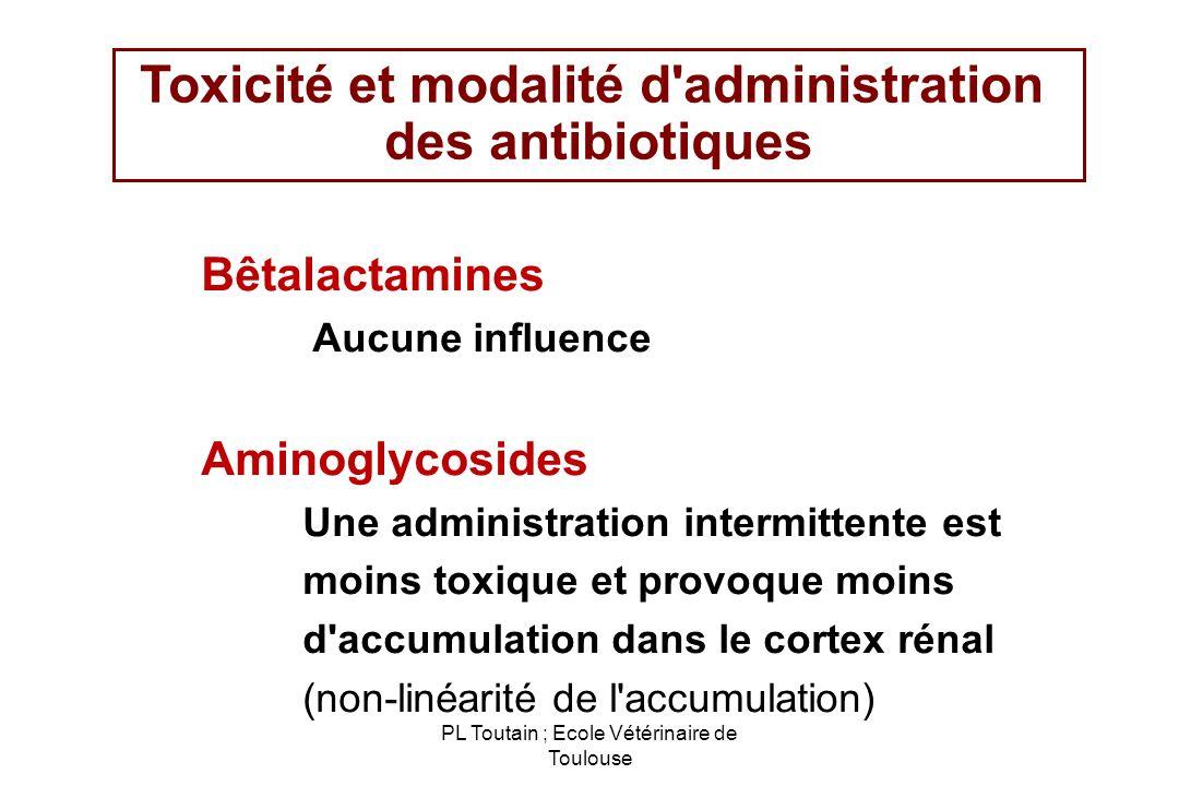 Toxicité et modalité d administration