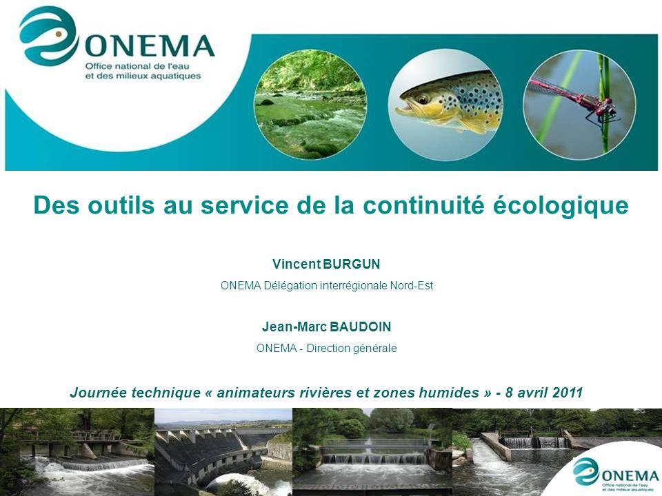 Des outils au service de la continuité écologique