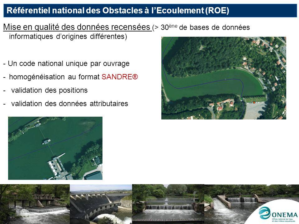 Référentiel national des Obstacles à l'Ecoulement (ROE)