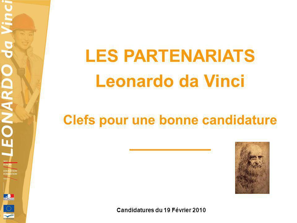 Clefs pour une bonne candidature Candidatures du 19 Février 2010