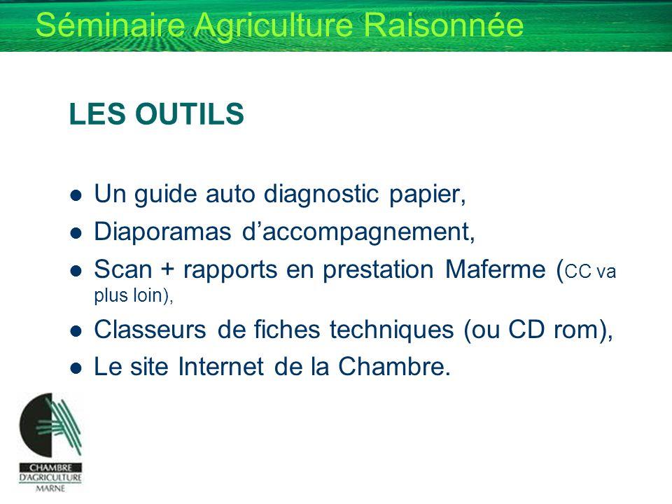 LES OUTILS Un guide auto diagnostic papier,