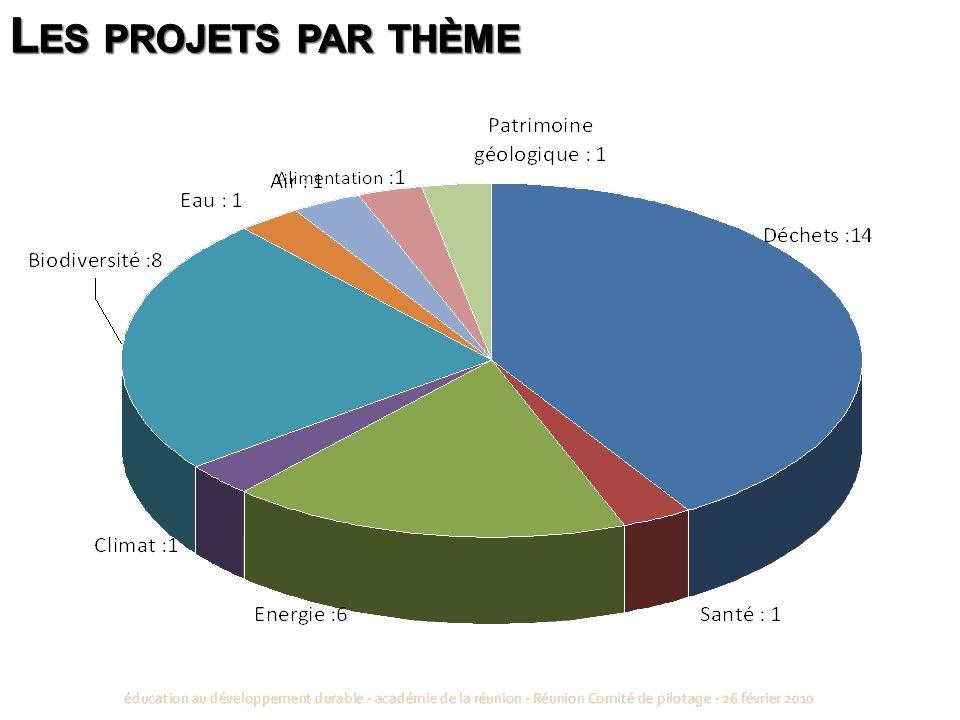 Les projets par thème 5