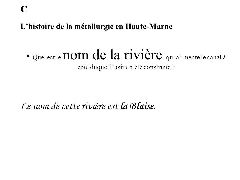 L'histoire de la métallurgie en Haute-Marne