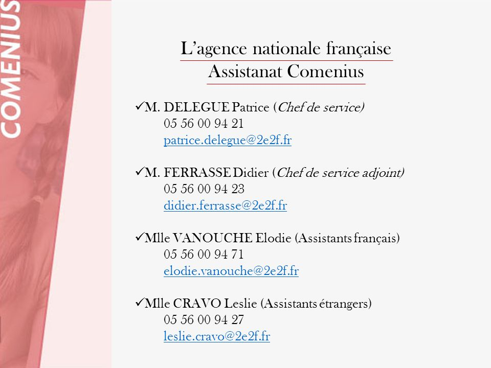 L'agence nationale française