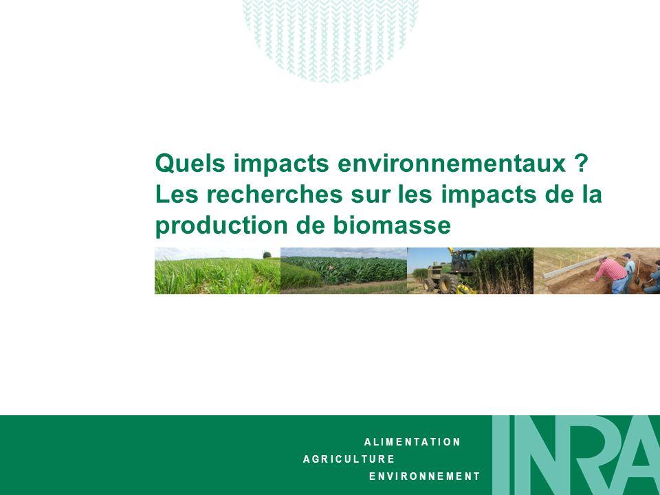 Quels impacts environnementaux