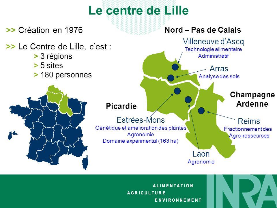 Le centre de Lille >> Création en 1976
