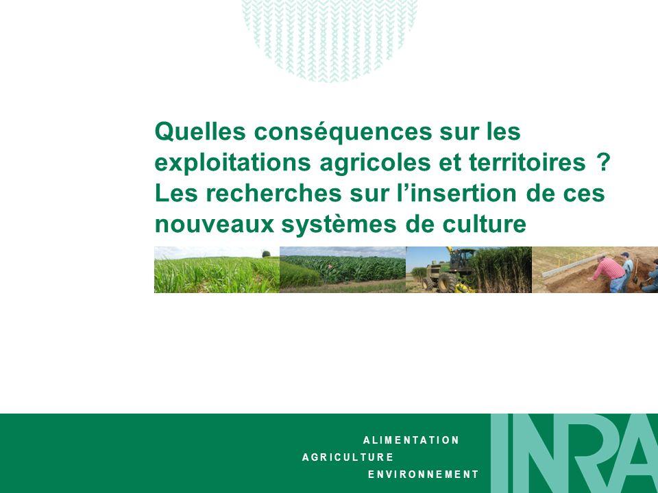 Quelles conséquences sur les exploitations agricoles et territoires