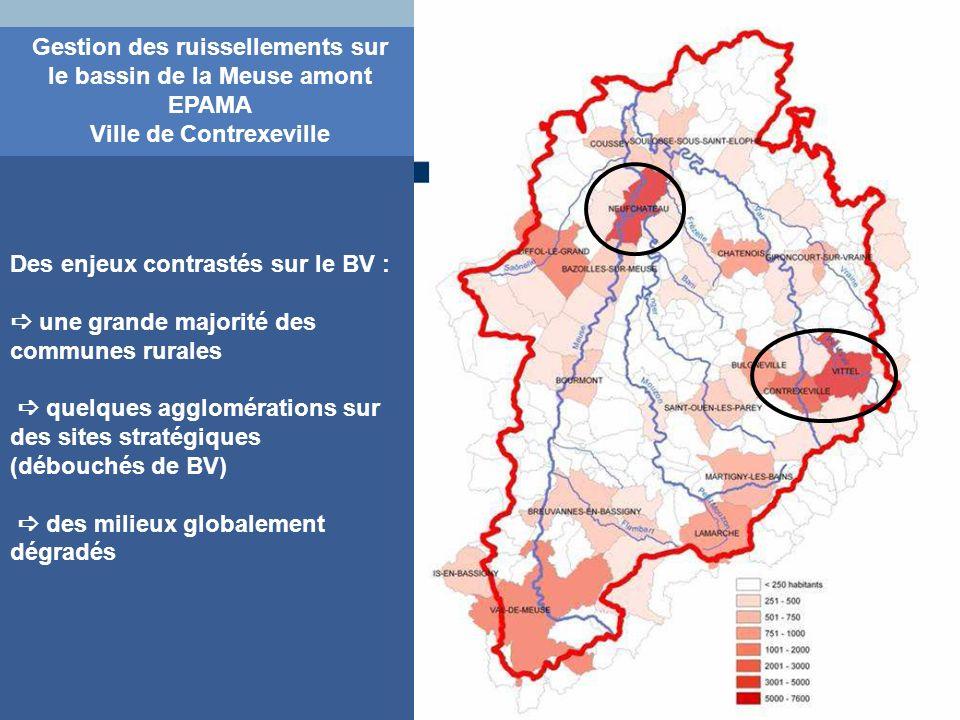 Gestion des ruissellements sur le bassin de la Meuse amont EPAMA Ville de Contrexeville