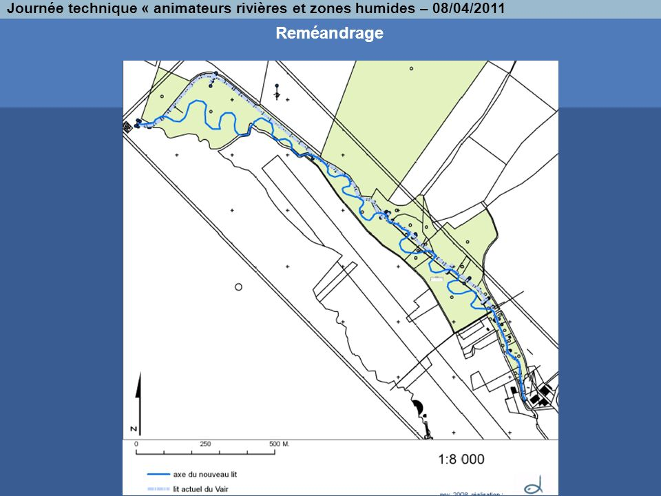 Journée technique « animateurs rivières et zones humides – 08/04/2011