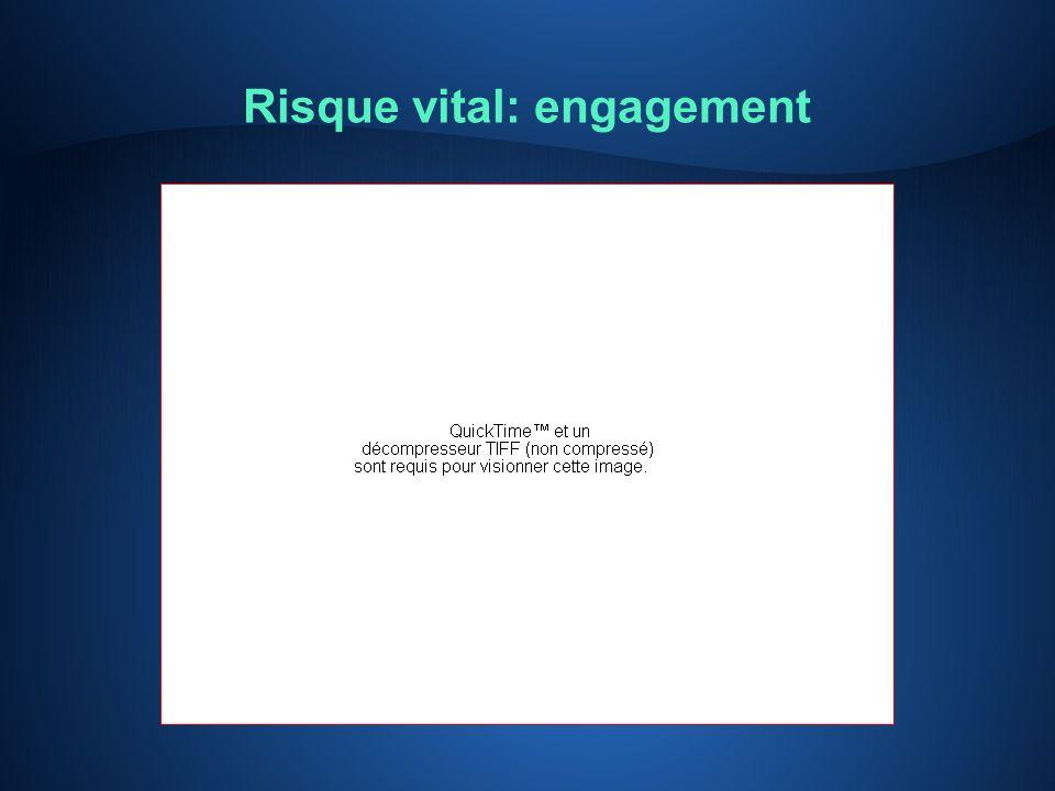 Risque vital: engagement