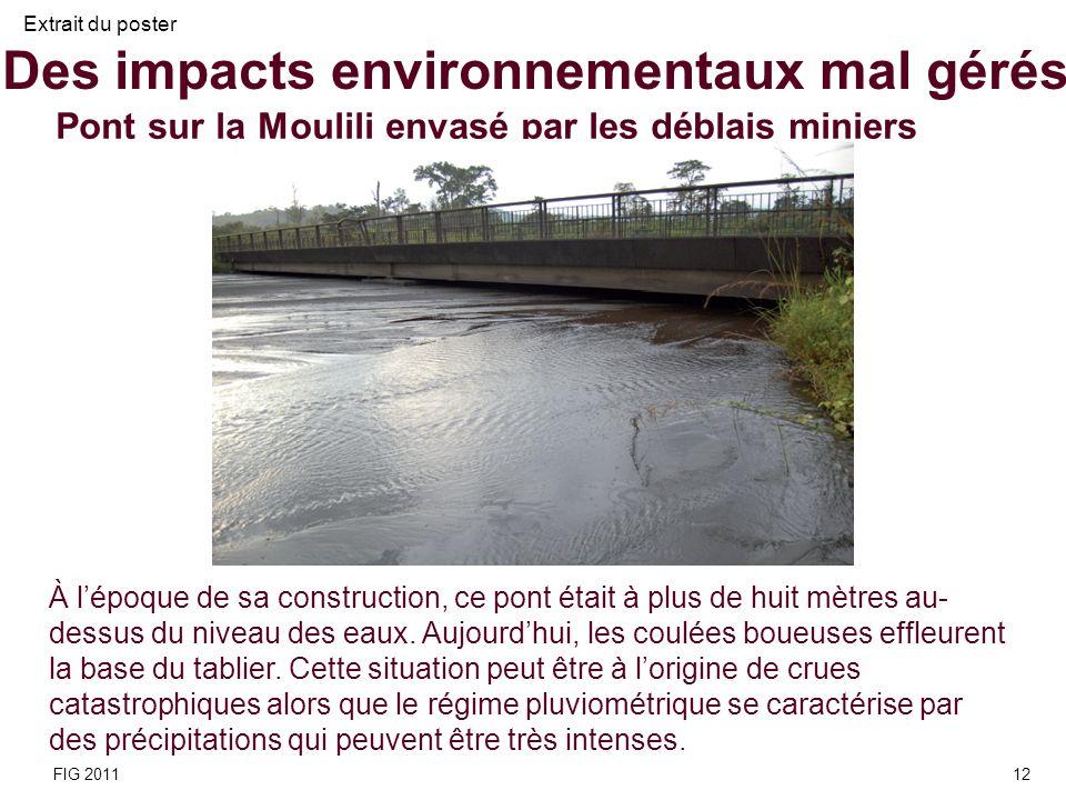 Des impacts environnementaux mal gérés