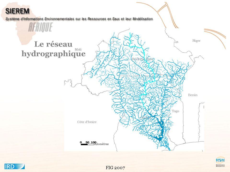 Le réseau hydrographique