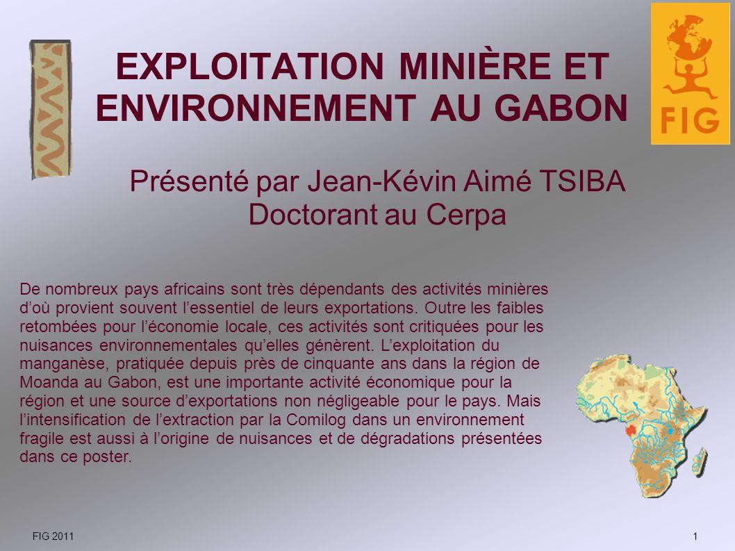 EXPLOITATION MINIÈRE ET ENVIRONNEMENT AU GABON