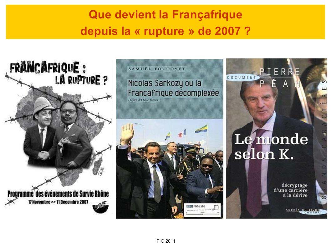 Que devient la Françafrique