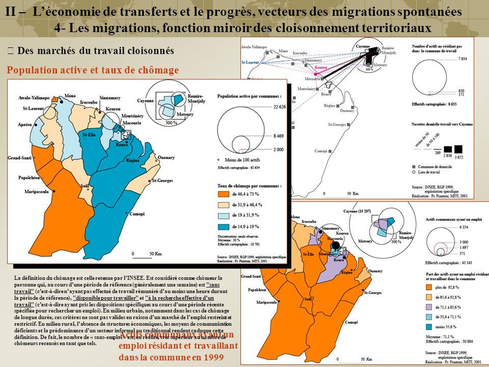 4- Les migrations, fonction miroir des cloisonnement territoriaux