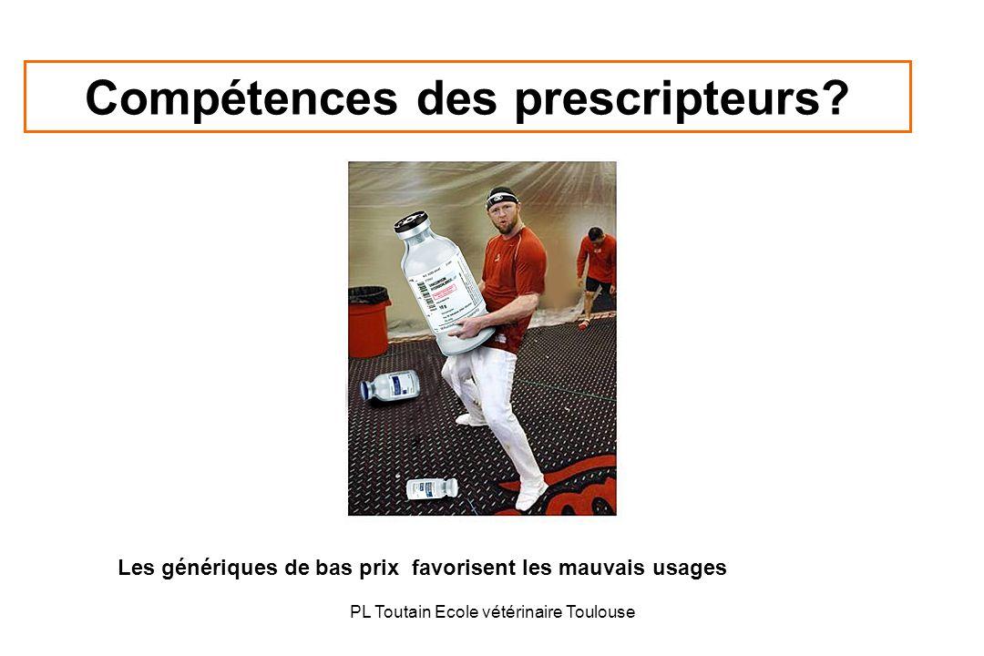 Compétences des prescripteurs