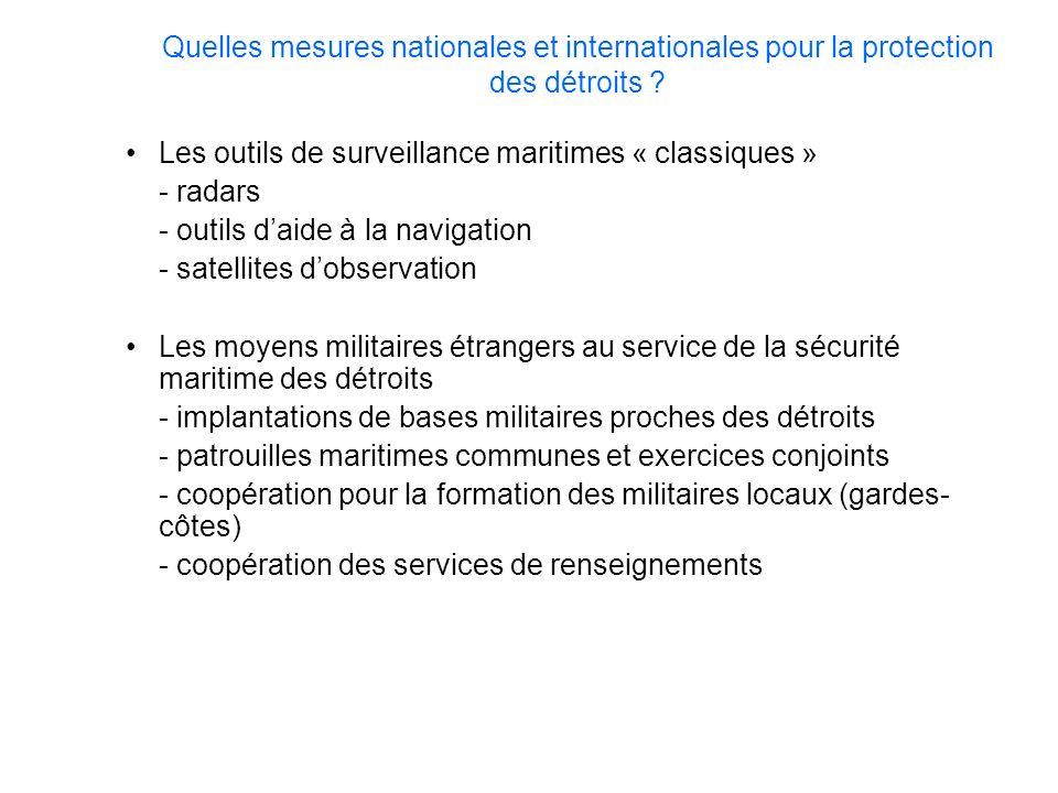 Les outils de surveillance maritimes « classiques » - radars