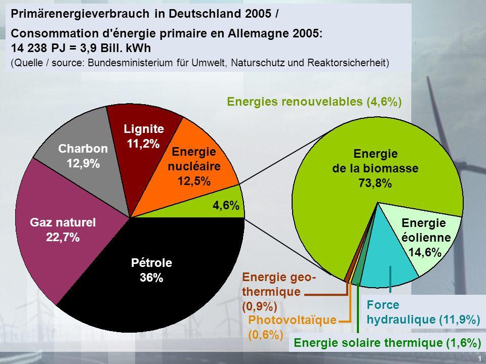 Primärenergieverbrauch in Deutschland 2005 /