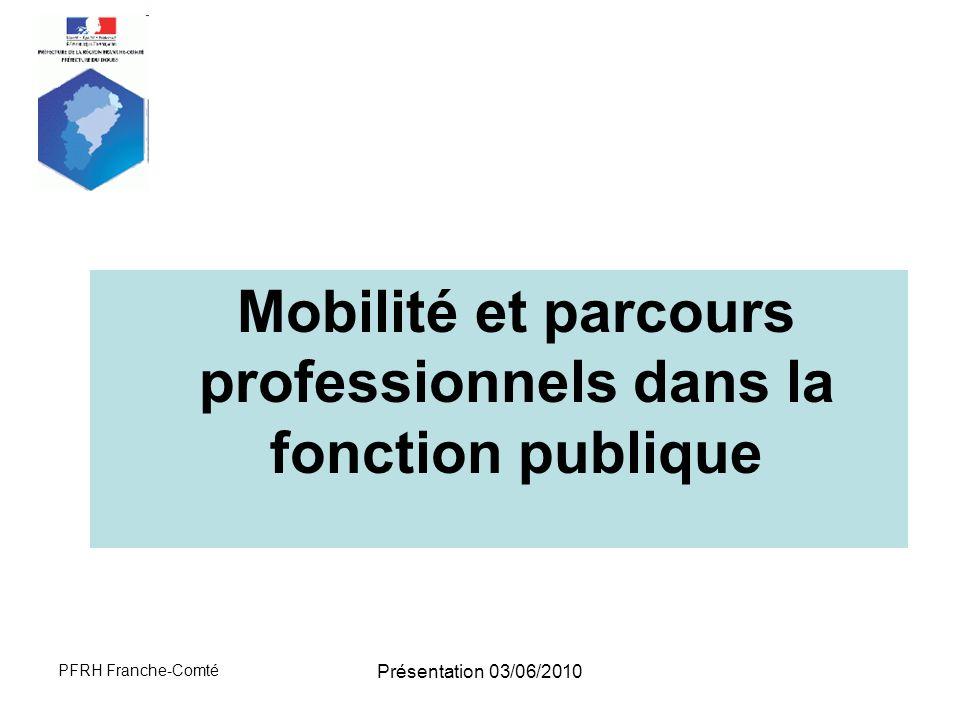 Mobilité et parcours professionnels dans la fonction publique