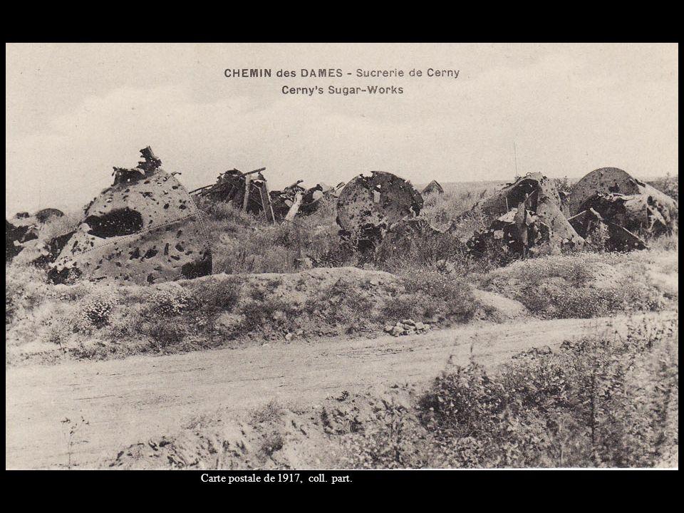 Carte postale de 1917, coll. part.