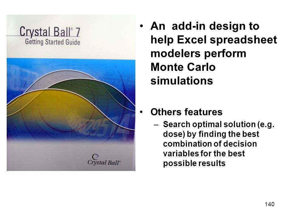 An add-in design to help Excel spreadsheet modelers perform Monte Carlo simulations