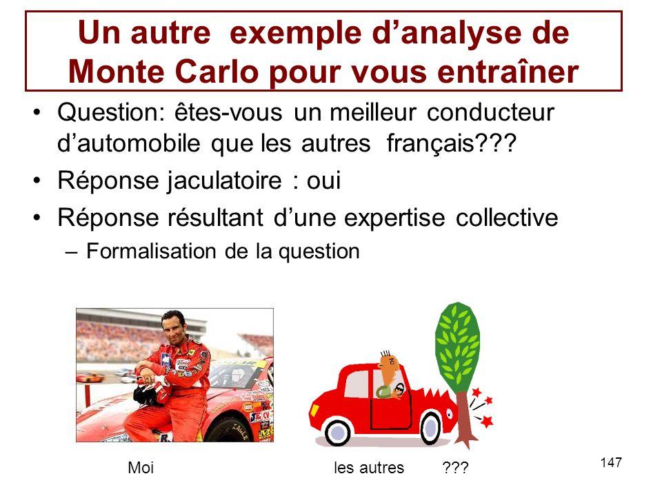 Un autre exemple d'analyse de Monte Carlo pour vous entraîner
