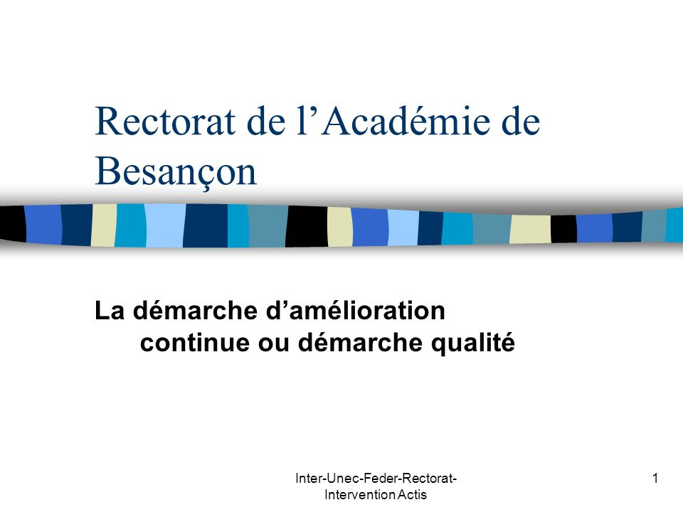 Rectorat de l'Académie de Besançon