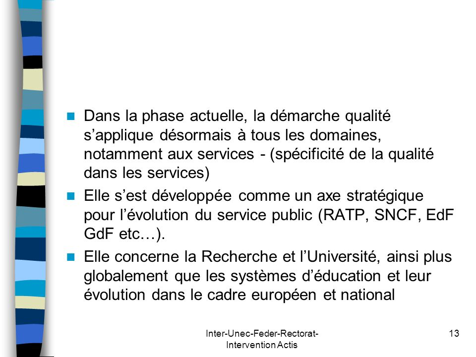 Inter-Unec-Feder-Rectorat-Intervention Actis