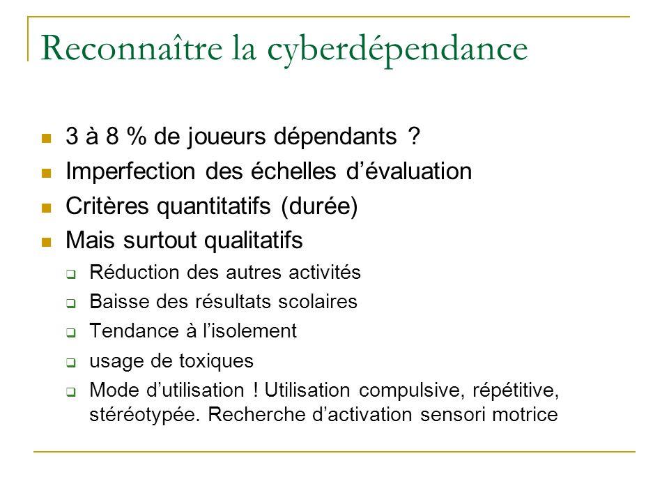 Reconnaître la cyberdépendance