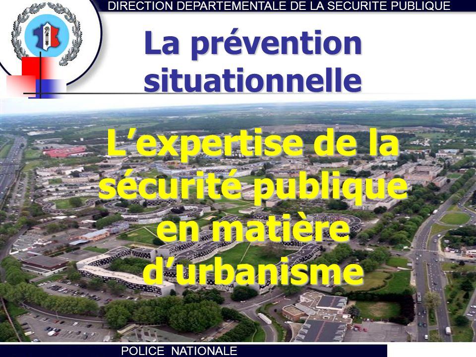 L'expertise de la sécurité publique en matière d'urbanisme