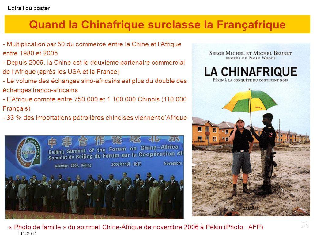 Quand la Chinafrique surclasse la Françafrique