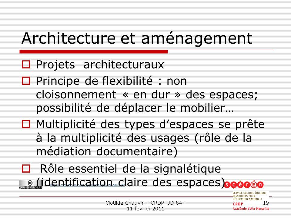 Architecture et aménagement