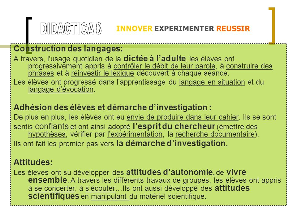 Construction des langages: