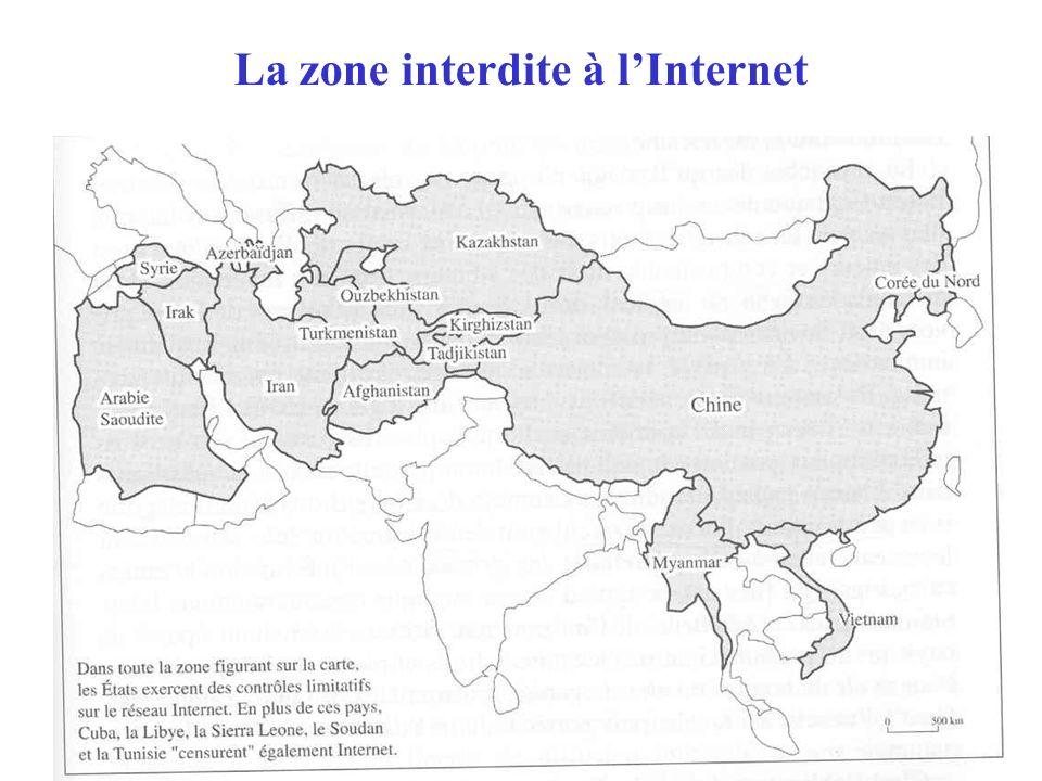 La zone interdite à l'Internet