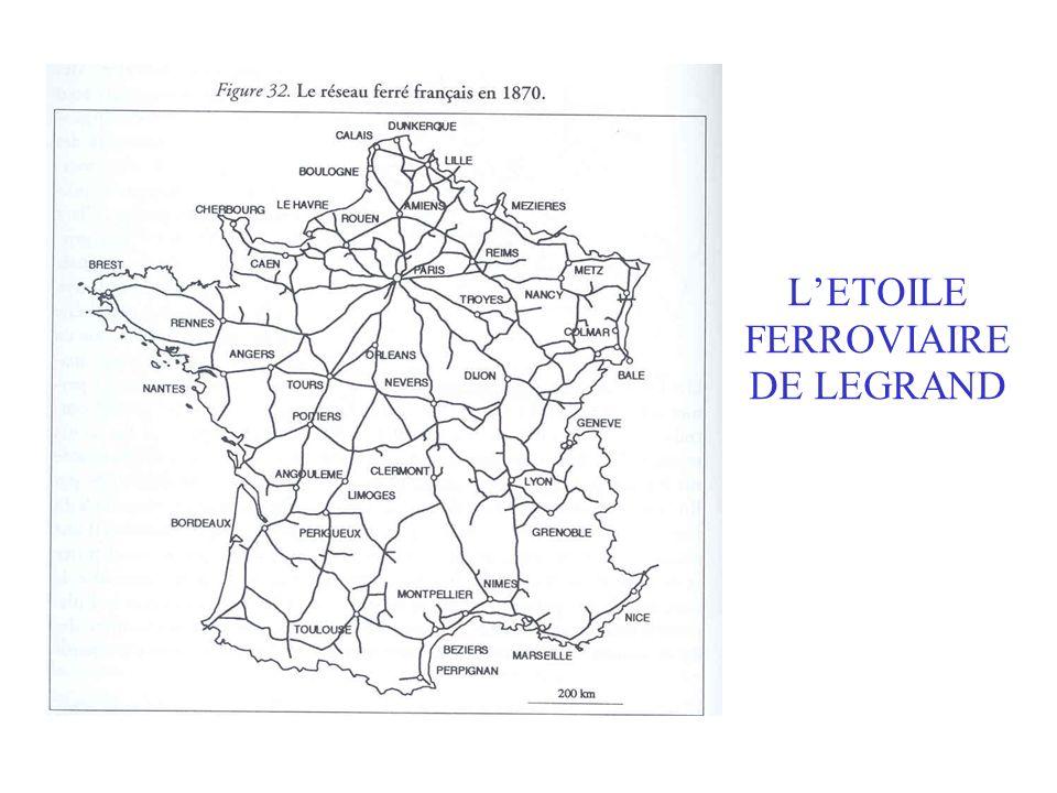 L'ETOILE FERROVIAIRE DE LEGRAND