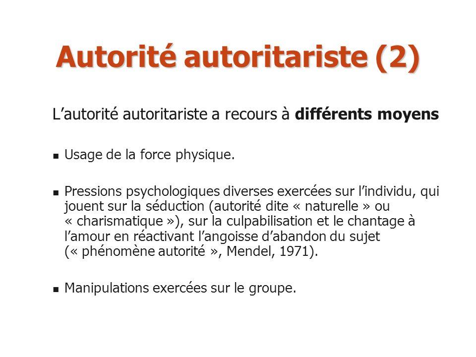 Autorité autoritariste (2)