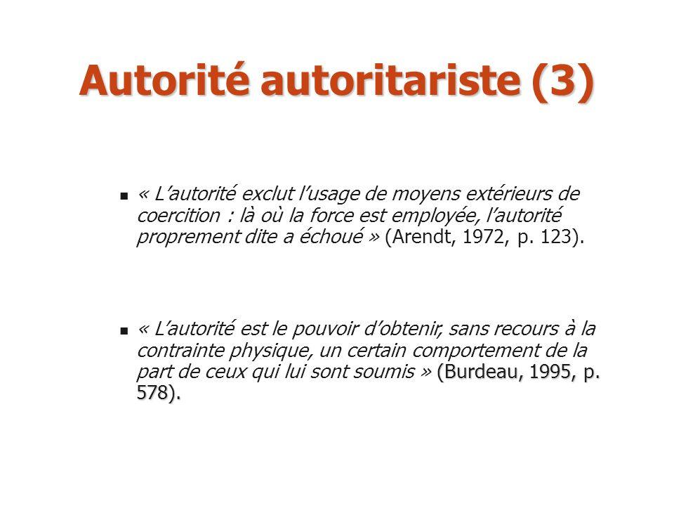 Autorité autoritariste (3)