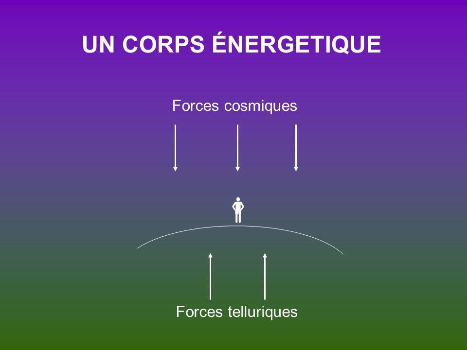 UN CORPS ÉNERGETIQUE Forces cosmiques  Forces telluriques