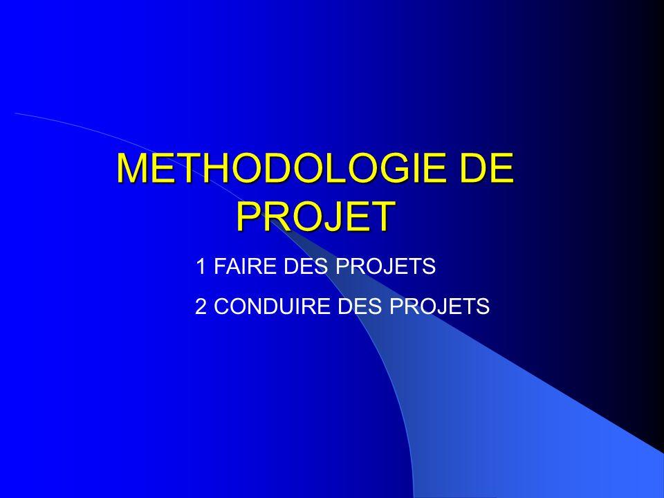 METHODOLOGIE DE PROJET