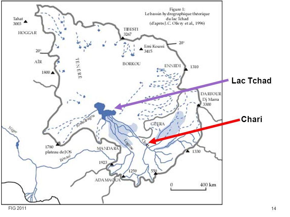 Lac Tchad Chari FIG 2011